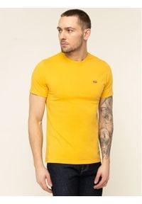 Levi's® T-Shirt 17164-0003 Żółty Regular Fit. Kolor: żółty