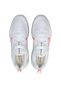 Białe buty treningowe Nike Nike Air Max