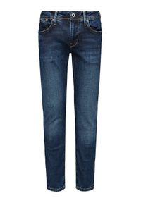 Pepe Jeans Jeansy Hatch PM200823 Granatowy Slim Fit. Kolor: niebieski