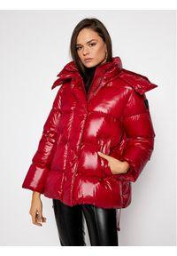 Czerwona kurtka puchowa Sportmax Code
