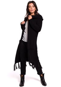Sweter boho, długi, z długim rękawem