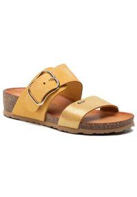 Żółte klapki Igi & Co