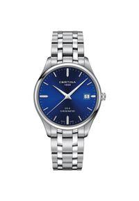 Szary zegarek CERTINA klasyczny