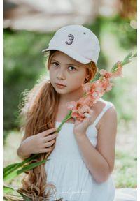 Różowa czapka z daszkiem Jamiks z aplikacjami