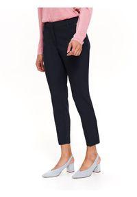 Niebieskie spodnie TOP SECRET eleganckie, do pracy #8