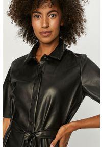Czarna sukienka Noisy may biznesowa, z krótkim rękawem #6