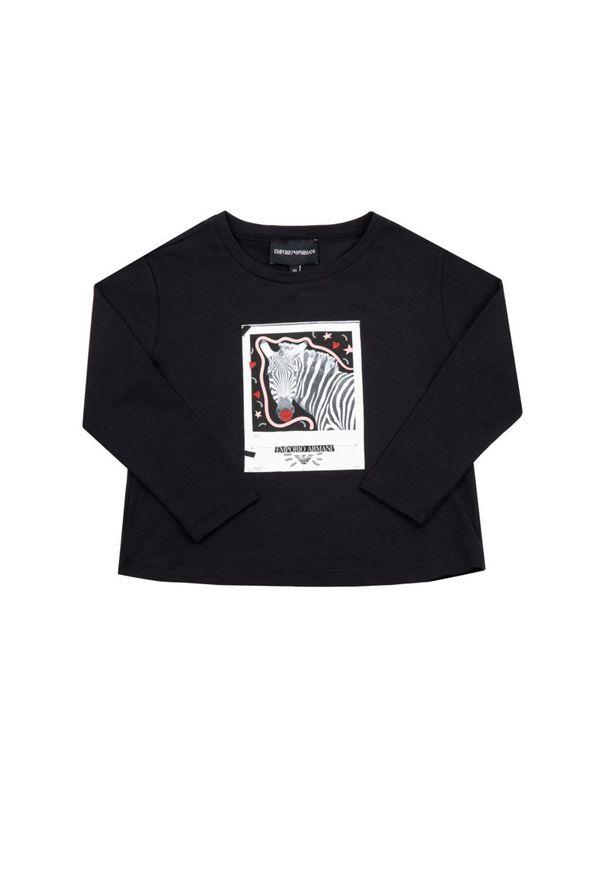 Czarna bluzka Emporio Armani