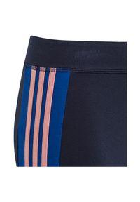 Adidas - Getry dziewczęce adidas 3 Stripes GD6213 Girl. Materiał: bawełna, dzianina, materiał, elastan. Wzór: paski. Sport: fitness