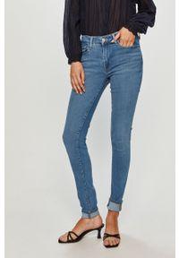 Niebieskie jeansy Levi's® na spotkanie biznesowe, gładkie, biznesowe