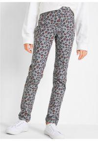 Szare jeansy bonprix eleganckie