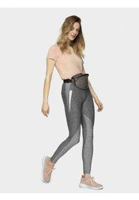 Szare spodnie sportowe outhorn do kostek, melanż