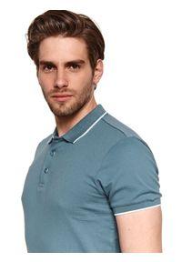Zielony t-shirt TOP SECRET polo