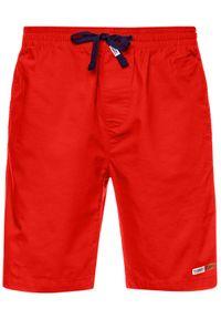 Czerwone spodenki sportowe Tommy Jeans do koszykówki