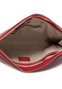 Czerwona kopertówka Furla klasyczna, skórzana