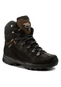 Czarne buty trekkingowe MEINDL z cholewką, trekkingowe, Gore-Tex
