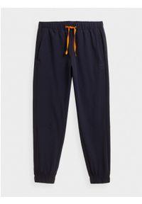 outhorn - Spodnie materiałowe męskie. Materiał: materiał. Sport: turystyka piesza