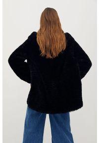 Czarny płaszcz mango casualowy, bez kaptura, na co dzień #8