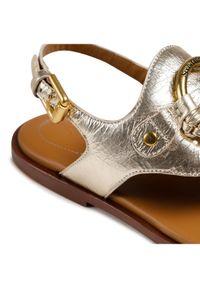 Złote sandały See By Chloé