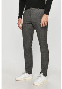 Tommy Hilfiger Tailored - Spodnie. Kolor: szary. Materiał: tkanina