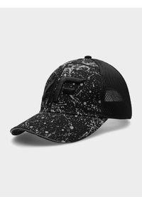 Srebrna czapka z daszkiem 4f z haftami