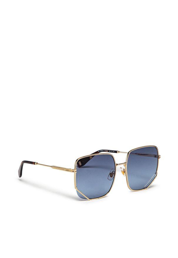 Okulary przeciwsłoneczne MARC JACOBS - MJ 1008/S Gold Havana 06J. Kolor: złoty