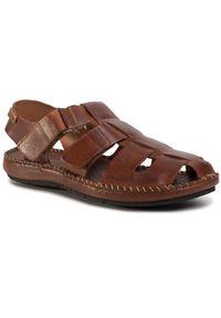 Brązowe sandały Pikolinos na co dzień, casualowe, na lato