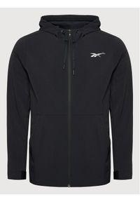 Adidas - adidas Kurtka przejściowa GT3261 Czarny Regular Fit. Kolor: czarny