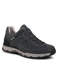 Szare buty trekkingowe MEINDL trekkingowe, z cholewką