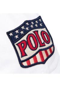 Biała czapka z daszkiem Polo Ralph Lauren