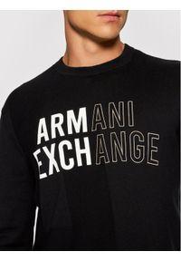 Armani Exchange Sweter 6KZM1A ZML5Z 1200 Czarny Regular Fit. Kolor: czarny