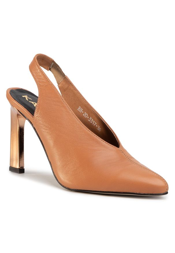 Brązowe sandały Karino casualowe, na co dzień