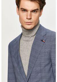Niebieska marynarka Tommy Hilfiger Tailored klasyczna, na co dzień