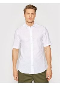 Only & Sons Koszula Caiden 22009885 Biały Slim Fit. Kolor: biały