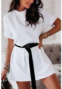 Biała tunika IVET na co dzień, elegancka