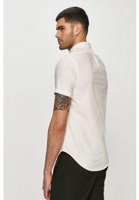Biała koszula Polo Ralph Lauren na co dzień, krótka, casualowa, polo