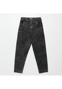 Szare jeansy Cropp #1