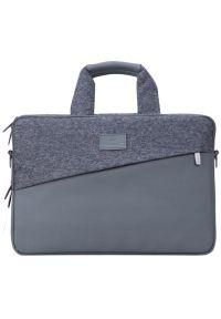 Szara torba na laptopa RIVACASE elegancka #6