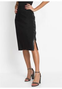 Czarna spódnica bonprix elegancka
