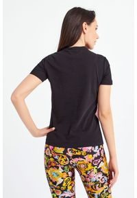 Versace Jeans Couture - T-SHIRT VERSACE JEANS COUTURE. Okazja: na co dzień. Materiał: materiał. Styl: casual #5