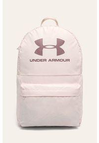 Różowy plecak Under Armour z nadrukiem