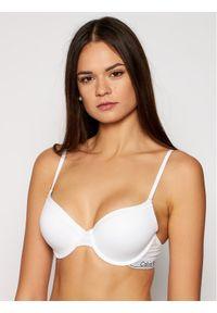 Biały biustonosz z fiszbinami Calvin Klein Underwear