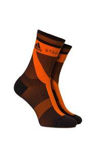 Adidas by Stella McCartney - Skarpety ADIDAS BY STELLA McCARTNEY CREW SOCKS. Materiał: elastan. Wzór: aplikacja