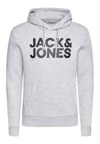 Jack & Jones - Jack&Jones Bluza Corp Logo 12152840 Szary Regular Fit. Kolor: szary