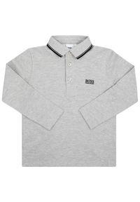 Szary t-shirt polo BOSS polo