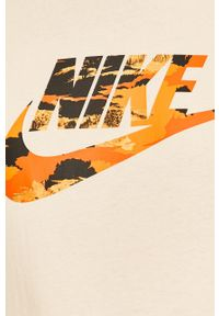 T-shirt Nike Sportswear casualowy, z nadrukiem, z okrągłym kołnierzem, na co dzień