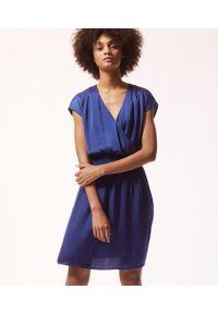 Niebieska koszula nocna Etam krótka