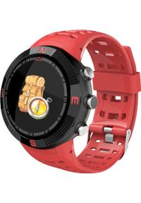 Czerwony zegarek WATCHMARK smartwatch