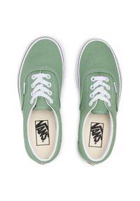 Vans - Tenisówki VANS - Era VN0A54F14G61 Shale Green/True White. Okazja: na co dzień. Kolor: zielony. Materiał: materiał. Szerokość cholewki: normalna. Styl: casual. Model: Vans Era