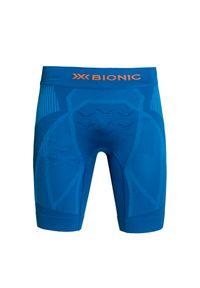 Niebieskie spodenki sportowe X-Bionic