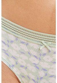 Etam - Brazyliany GIULIA (3-Pack). Kolor: niebieski
